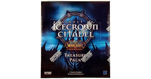 World of Warcraft Assault on Icecrown Citadel Treasure Pack BOX Sealed English