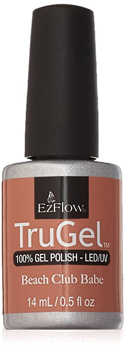 のために向けて出発公然とEzFlow TruGel Gel Polish - Satin Prom Dress - 0.5oz / 14ml