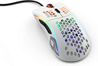 Glorious Model D- (Minus) Lightweight Gaming Mouse, Matte White (GLO-MS-DM-MW)