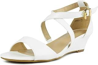 white sandal pumps