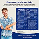 Nootropics Brain Supplement Support - Memory Booster for Mind Focus Reduce Anxiety - DMAE Pills for Concentration Improve Brain Function, Neuro & IQ with Bacopa Monnieri L-Glutamine for Men and Women #1