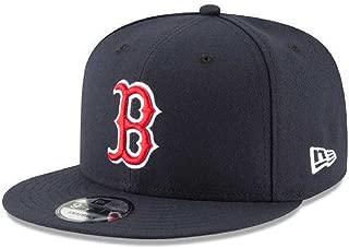 New Era MLB 950 Boston RedSox Basic Snapback Cap Navy Blue Team Color