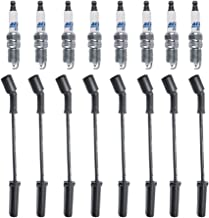 New ACDelco Spark Plugs 41-962 (8) + (8) Herlux Spark Plug Wires WGM48 For LS2 LS3 LS4 LS7 Engines