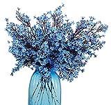 JAKY-Global Babys Breath Fabric Cloth Artificial Flowers 6 Bundle European Fake...