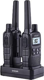 ORICOM UHF2390 2 Watt Handheld UHF CB Radio Twin Pack, Black