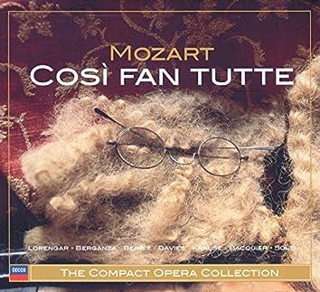 Mozart: Così fan tutte (3 CDs)