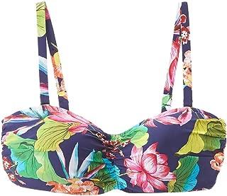 La Blanca Womens Delux Bora Bikini Top, 36E, Blue