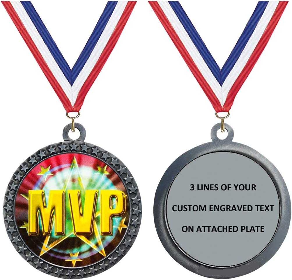 Express Medals Engraved Ranking TOP10 1 to Packs MVP Award-winning store Silver 50 Medal