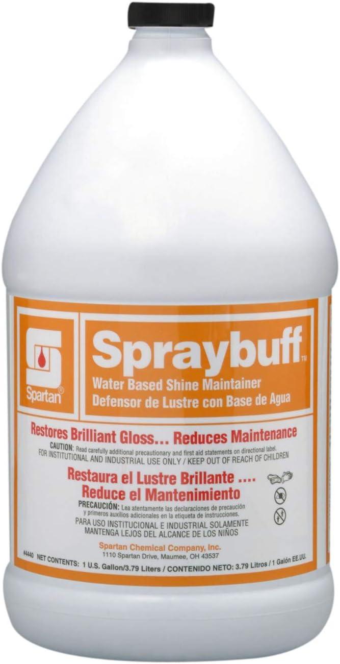 Spartan Spraybuff Floor Care - Gal, 4/cs