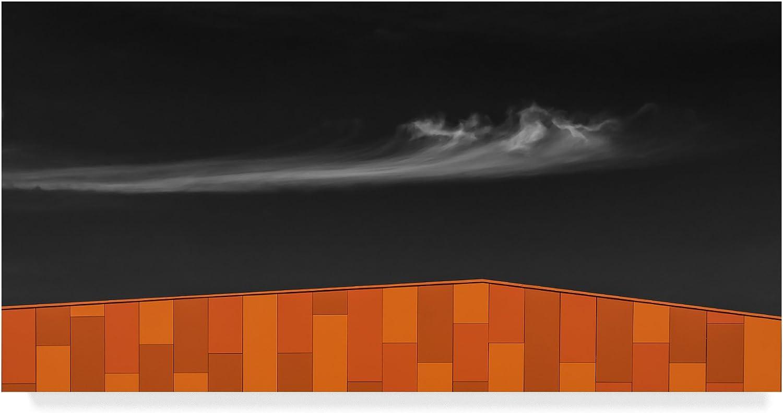 Trademark Fine Art Hot Roof by Luc Vangindertael Fine Art, Multicolor, 10 x 19
