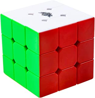 MICUB Magic Cube 3x3 Speed Cube Stickerless 3x3x3 Magic Cube Puzzles for Kids and Adults