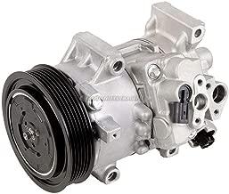 AC Compressor & A/C Clutch For Toyota Corolla & Matrix 1.8L 2011 2012 2013 - BuyAutoParts 60-03176NA New