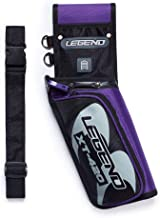 Legend - XT420 Field Quiver with Adjustable Nylon Belt   Lightweight Design Sits on Your Hip Comfortably   Triple Arrow Compartments for Quick Draw and Storage   3 Pockets