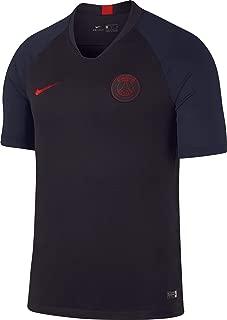 Nike 2019-2020 PSG Strike Training Football Soccer T-Shirt Jersey (Oil Grey)