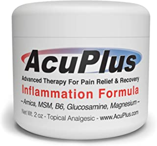 Sponsored Ad - AcuPlus Pain Relief Cream - Advanced Therapy for Relief and Recovery from Bursitis, Tendonitis, Joint Pain,...