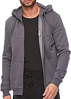 Bodytalk Top Zip Sweater For Men - Grey S