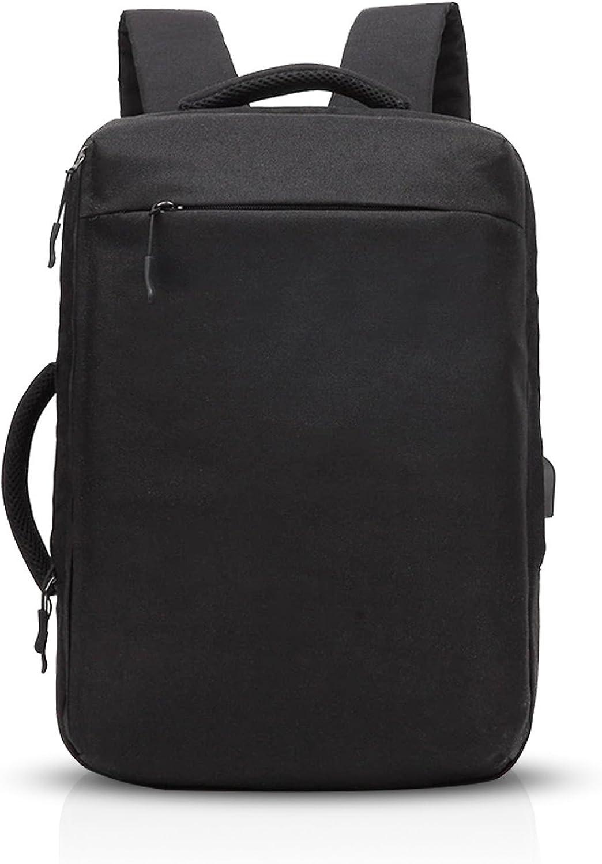 ZMLSXU Fashion Fashion Fashion Large-Capacity Rucksack Diagonal Bag Handtasche Wandern Bag mit USB-Ladeanschluss Multi-Farbe-Auswahl (Farbe   Schwarz) B07DXS9TMH   Öffnen Sie das Interesse und die Innovation Ihres Kindes, aber auch die Unschuld von Kindern, kindlich, glü d5e9a2