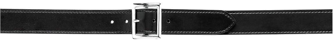Safariland Duty Gear Garrison Chrome Buckle Belt (Plain Black, 38-Inch)