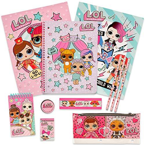 MGA Entertainment Juego de papelería LOL Surprise - Juego de Estuche de lápices para lápices para niñas