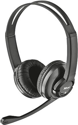 Trust Zaia Cuffie On-Ear con Controllo Volume Integrato e Microfono Regolabile, Nero - Trova i prezzi più bassi