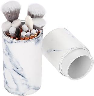 15本 メイクブラシ、大理石柄化粧筆 粉、フェイスブラシ 化粧品ブラシ 大理石の模様 高級繊維毛 アイブラシセット 収納ボックス