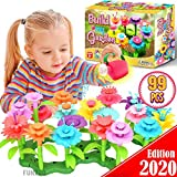 FunzBo Flower Garden Building STEM Toys - Gardening Pretend Gift for Girls Kids Toy - Educational...