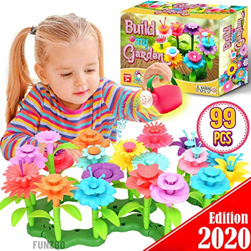 FunzBo Flower Garden Building Toy