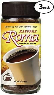 Kaffree Roma Kaffree Roma Roasted Grain Beverage, 7-Ounce (Pack of 3)