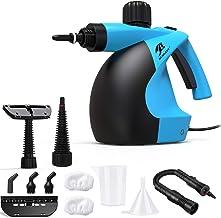 MLMLANT - Limpiador de vapor multiusos 350 ml – limpiador a vapor de mano con 11 accesorios para eliminar manchas con alfombra, azulejos, asientos de coche