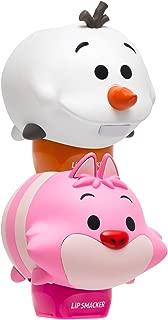 Lip Smacker Disney Tsum Tsum Lip Balm Duo, Plumberry Wonderland and Icy Truffle Treat, 2 Count