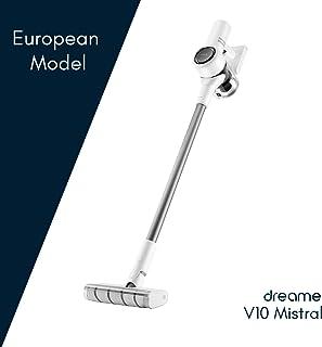 Dreame V10 Mistral - Aspirador sin Cables, Modelo Europeo, Tecnolog?a de Reducci?n de Ruido, 100.000 RPM, 60 min, Blanco, 450 W