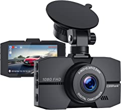"""Campark Dash Cam 1080P Full HD Dash Camera for Cars 3"""" IPS Screen DVR Dashboard Driving Recorder with 170° Wide Angle Night Vision Loop Recording G-Sensor and Parking Monitor"""