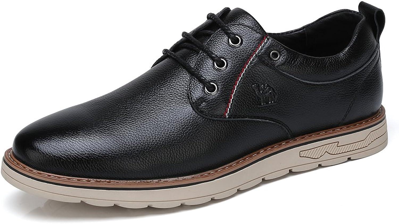 skor mocka läder Lace up Dress skor skor skor for män Business Casual skor  bekväm
