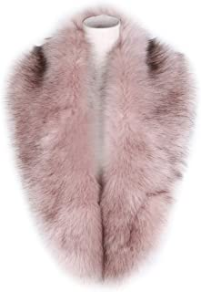 931daf25d9653 Dikoaina Extra Large Women s Faux Fur Collar for Winter Coat
