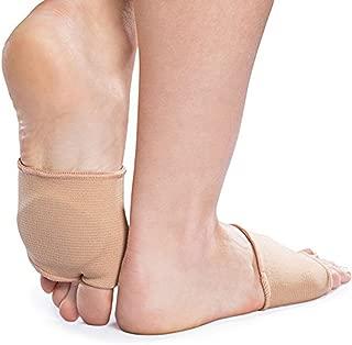 1 Pair Nylon /&Memory Foam Metatarsal//Ball Foot Cushion Pads Half Socks  Insoles
