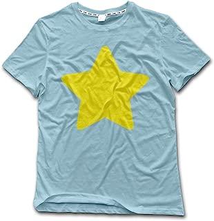Romantic Fish Steven Universe Star Cosplay T Shirts for Men Summer Pattern Top Cartoon Red