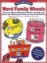 Turn-to-Learn: Word Family Wheels (Grades PreK-2)