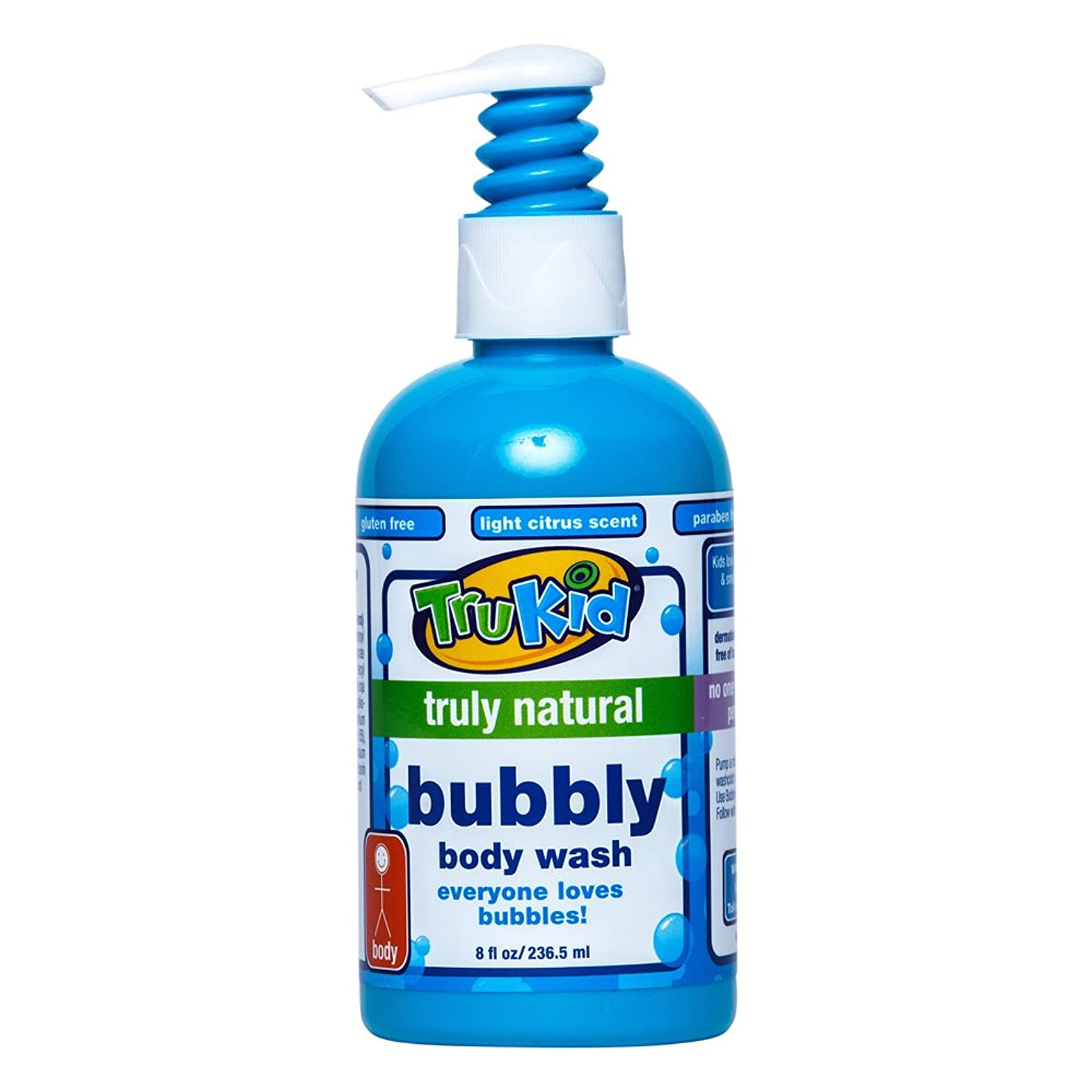 聞くベース満足TruKid, Bubbly Body Wash, 8 fl oz (236.5 ml)