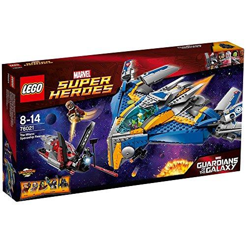 LEGO Super Heroes - Guardianes de la Galaxia, Rescate en la Nave Espacial Milano (76021)