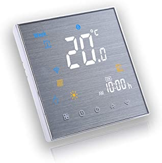 BecaSmart Serie 3000 3A LCD pantalla táctil Caldera Calefacción inteligente Control de programación termostato con conexió...