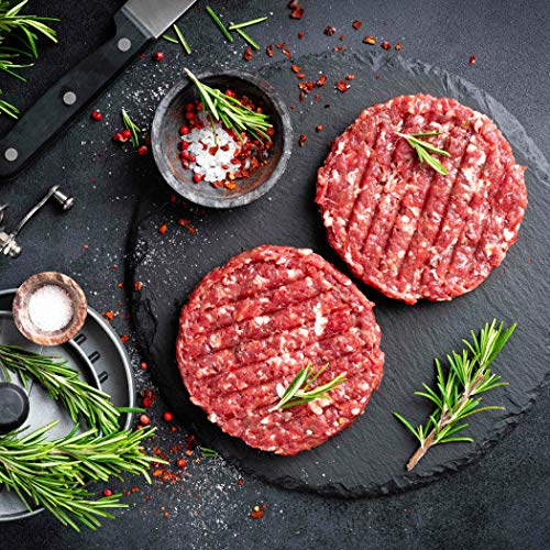 Australian Wagyu Beef Burgers - 2 Patties x 8 ounces each - Premium Grade 100% Wagyu imported from Australia