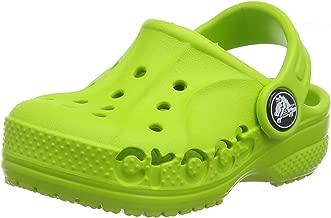 Crocs Kids' Baya Clog |Comfortable Slip On Water Shoe for Toddlers, Boys, Girls, Black, 13 M US Little Kid