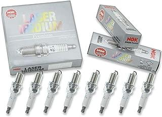 8 pcs NGK Laser Iridium Spark Plugs for 2007-2015 Nissan Titan 5.6L 5.6L V8 - Engine Kit Set Tune Up