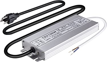 Idealy 150W DC 12V Ip67 Waterproof LED Power Supply Driver Transformer Adapter for Lighting Strip with outdoor