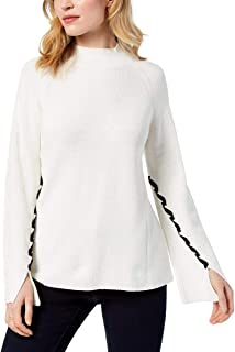 Style & Co. Lace-Up-Sleeve Sweater