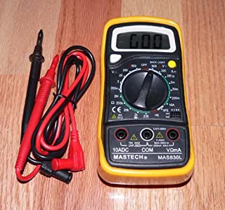 Mastech MAS 830L Digital Multimeter for Tube Amp Maintenance by Mastech