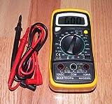 Best Mastech Multimeters - Mastech MAS 830L Digital Multimeter for Tube Amp Review