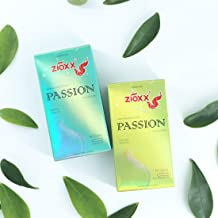 Zioxx Water Based Lubricants Vegan Passion Condom 20 Pieces(2 Pack)