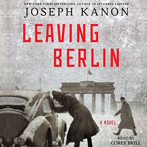 Leaving Berlin audiobook cover art