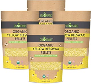 1 Pounds of White Beeswax YCYH 100/% Pure Beeswax Pastilles